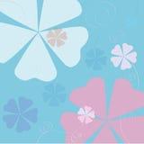 στρόβιλοι λουλουδιών απεικόνιση αποθεμάτων