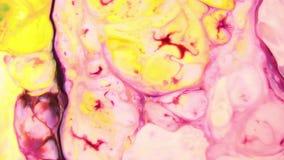 Στρόβιλος και έκρηξη της μικτής έκρηξης χρώματος φιλμ μικρού μήκους