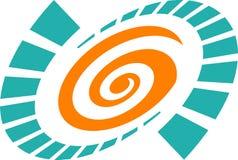στρόβιλος λογότυπων Στοκ φωτογραφίες με δικαίωμα ελεύθερης χρήσης
