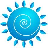 στρόβιλος λογότυπων Στοκ Εικόνα