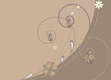 στρόβιλος λουλουδιών Απεικόνιση αποθεμάτων