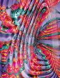 στρόβιλος χρωμάτων Απεικόνιση αποθεμάτων