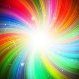 Στρόβιλος χρώματος Στοκ Εικόνα