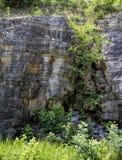 Στρώματα ασβεστόλιθων του Τένεσι - ιζηματώδης βράχος Στοκ Εικόνες