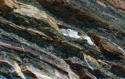 Στρώματα βράχου Στοκ Φωτογραφίες