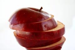 στρώματα μήλων Στοκ Εικόνα