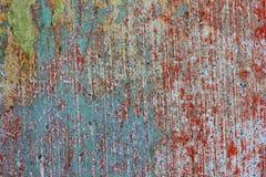 Στρώματα του παλαιού χρώματος Στοκ Εικόνες