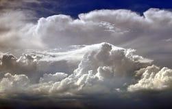 Στρώματα των σύννεφων Στοκ φωτογραφία με δικαίωμα ελεύθερης χρήσης
