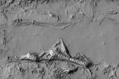 Στρώμα της λάσπης στη λακκούβα Στοκ φωτογραφία με δικαίωμα ελεύθερης χρήσης