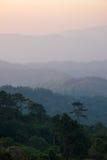 Στρώμα του βουνού στοκ φωτογραφία