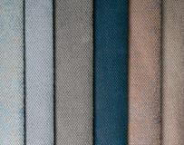 Στρώμα του ζωηρόχρωμου υφάσματος στοκ φωτογραφίες
