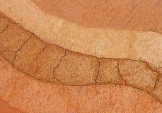 Στρώμα του χώματος για το υπόβαθρο στοκ φωτογραφίες με δικαίωμα ελεύθερης χρήσης