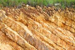 Στρώμα του χώματος Στοκ Φωτογραφία
