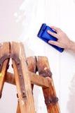 Στρώνοντας με άμμο ξηρός τοίχος Στοκ εικόνες με δικαίωμα ελεύθερης χρήσης