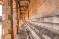 Στυλοβάτες ενός ινδού ναού Στοκ Εικόνες