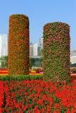 στυλοβάτες λουλουδ&io Στοκ Φωτογραφίες