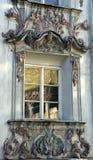 στυλ ροκοκό παράθυρο στοκ εικόνα με δικαίωμα ελεύθερης χρήσης