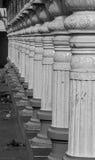 Στυλοβάτες της ινδικής αρχιτεκτονικής Στοκ Εικόνα
