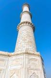 Στυλοβάτες Taj Mahal Agra Ινδία Στοκ φωτογραφία με δικαίωμα ελεύθερης χρήσης