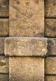 Στυλοβάτης πετρών λεπτομέρειας Στοκ Εικόνα