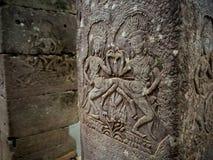 Στυλοβάτης του ναού Bayon σε Angkor Thom, Siemreap, Καμπότζη Στοκ φωτογραφίες με δικαίωμα ελεύθερης χρήσης