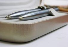 Στυλός και μολύβι Στοκ Εικόνες