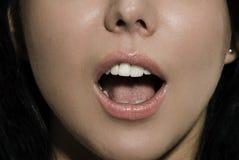 στόμα ανοικτό στοκ φωτογραφία με δικαίωμα ελεύθερης χρήσης