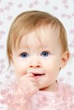 στόμα δάχτυλων παιδιών Στοκ εικόνες με δικαίωμα ελεύθερης χρήσης
