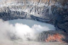 Στόμα Poas ηφαιστείων Στοκ Φωτογραφία