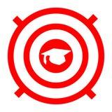 Στόχοι εκμάθησης Διανυσματική απεικόνιση που απομονώνεται στην άσπρη ανασκόπηση ελεύθερη απεικόνιση δικαιώματος