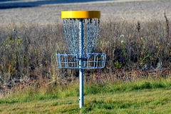 Στόχος γκολφ δίσκων Στοκ φωτογραφίες με δικαίωμα ελεύθερης χρήσης