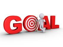 στόχος κεντρικού στόχου βελών τοξοτών απεικόνιση αποθεμάτων