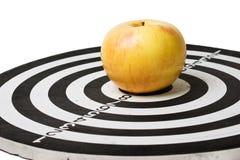 στόχος μήλων Στοκ φωτογραφία με δικαίωμα ελεύθερης χρήσης