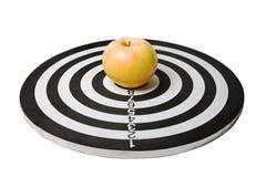 στόχος μήλων Στοκ φωτογραφίες με δικαίωμα ελεύθερης χρήσης