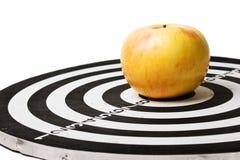 στόχος μήλων Στοκ εικόνες με δικαίωμα ελεύθερης χρήσης