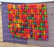 Στόχος μπαλονιών Στοκ εικόνες με δικαίωμα ελεύθερης χρήσης