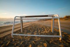 Στόχος ποδοσφαίρου παραλιών Στοκ Εικόνες
