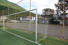 Στόχος ποδοσφαίρου ποδοσφαίρου Στοκ φωτογραφία με δικαίωμα ελεύθερης χρήσης