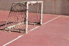 Στόχος ποδοσφαίρου Στοκ εικόνες με δικαίωμα ελεύθερης χρήσης