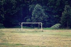 Στόχος ποδοσφαίρου Στοκ Εικόνες