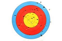 Στόχος πρακτικής που χρησιμοποιείται για το πυροβολισμό Στοκ φωτογραφία με δικαίωμα ελεύθερης χρήσης