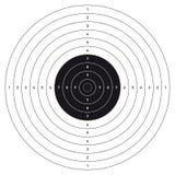 Στόχος πυροβολισμού Bullseye Στοκ φωτογραφία με δικαίωμα ελεύθερης χρήσης
