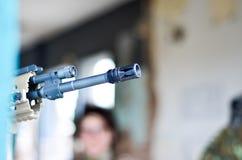 Στόχος στόχου στρατιωτών Στοκ Εικόνες