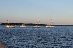 Στόλοι μέσα Στοκ Εικόνες