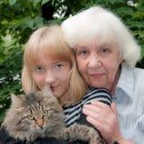 Συγγενείς Στοκ εικόνα με δικαίωμα ελεύθερης χρήσης