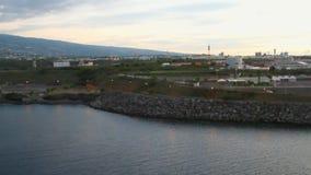 Συγκέντρωση, θαλάσσιος λιμένας LE Port απόθεμα βίντεο