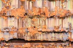 Συγκέντρωση σκουριάς τραίνων βαγονιών εμπορευμάτων Στοκ φωτογραφία με δικαίωμα ελεύθερης χρήσης
