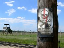 συγκέντρωση στρατόπεδων Στοκ φωτογραφία με δικαίωμα ελεύθερης χρήσης