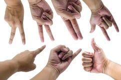 Συγκίνηση χεριών Στοκ φωτογραφίες με δικαίωμα ελεύθερης χρήσης