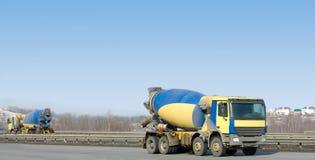 συγκεκριμένα ίδια truck δύο α&nu Στοκ φωτογραφία με δικαίωμα ελεύθερης χρήσης